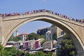 Mostar cityscape — Stock Photo