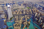 Dubai skyline — Stock Photo