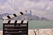 Avenue of stars, Hong-Kong — Stock Photo