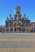 Delft town hall — Stock Photo