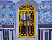 Tegel patroon in istanbul — Stockfoto
