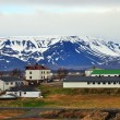 Village in Iceland — Stock Photo