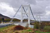 The white bridge — Stock Photo