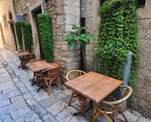 Ivy in courtyard — Stock Photo