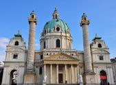 Karlskirche church — Stock Photo