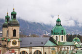 Roofs of Innsbruck — Stock Photo