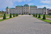 Belvedere Vienna — Stock Photo