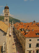 Dubrovnik downtown — Foto de Stock