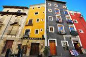 Multicolor spanish houses — Stock Photo
