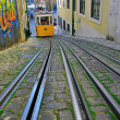 Lisbon funicular — Stock Photo