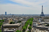 Panorama of Paris — Stock Photo