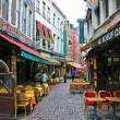 Stockfoto: Restaurants of Brussels
