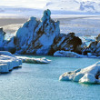 Glacier lagoon Jokulsarlon — Stock Photo