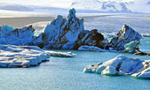 Glacier lagoon Jokulsarlon — Photo