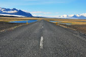 Road in Iceland — Stock Photo