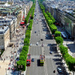 Champs Elysees view — Stock Photo