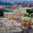 Krakow top view — Stock Photo