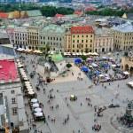 Krakow Market square — Stock Photo
