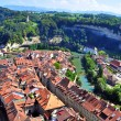 Roofs of Fribourg — Stock Photo