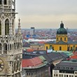 Munich rathaus — Stock Photo