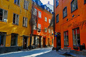 Stockholm street — Stock Photo