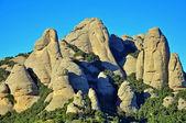Montserrat rocks — Stock Photo