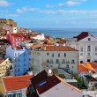 Stock Photo: Daybreak in Alfama