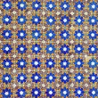 Azulejo pattern background — Stock Photo