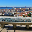 Panorama of Lisbon, Portugal — Stock Photo