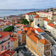 Panorama of Alfama, Lisbon — Stock Photo #35564959