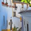 Obidos street — Stock Photo