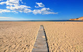Portugal beach — Stock Photo