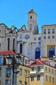 Klasztor Karmelitów w Lizbonie w Lizbonie — Zdjęcie stockowe