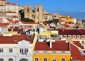 Lisbon skyline — Stock Photo