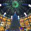 Xmas in shopping mall — Stock Photo