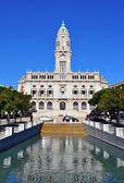 Porto rådhuset — Stockfoto