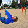 Stockfoto: Boy on playground