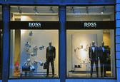 Hugo Boss store in Lisbon — ストック写真