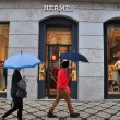 Stock Photo: Hermes boutique in Lisbon, Portugal