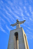 Statue of Jesus Christ in Lisbon — Stock Photo