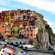 Multicolor houses of Liguria — Stock Photo #38466733