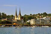 Luzern cityscape, Switzerland — Stock Photo