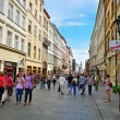 Stock Photo: Shopping in Krakow