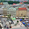 Krakow city centre — Stock Photo