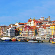 Multicolor houses of Porto, Portugal — Stock Photo