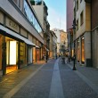 Stock Photo: Luxury shopping street in Padova, Italy