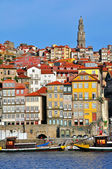 Porto skyline, vertical shot — Stock Photo