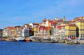 Multicolor houses of Porto, Portugal — Stock Photo
