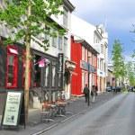 Reykjavik street — Stock Photo