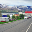 Akureyri cityscape — Stock Photo